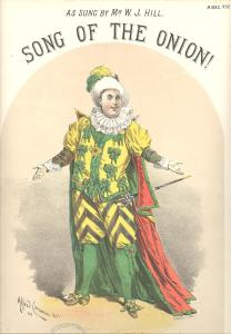 Mr. W.J. Hill in costume for Song of the Onion (A1882.932)